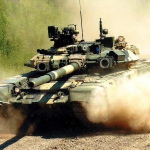 Т-90 против Абрамс - 01