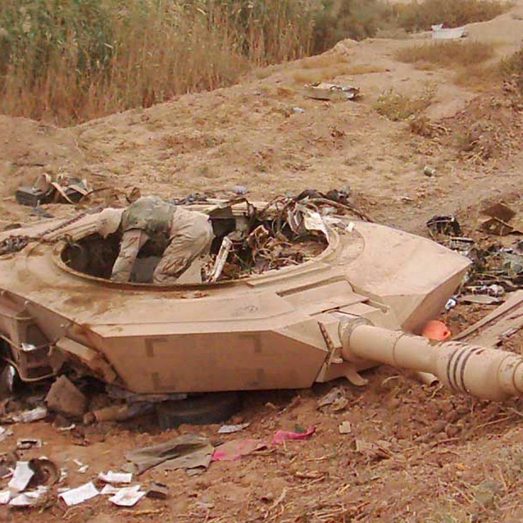 Т-90 против Абрамс - 06