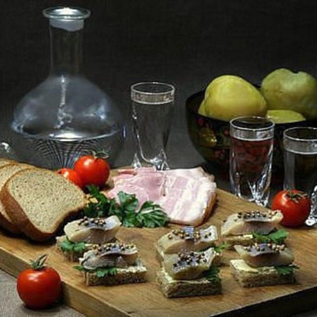 водка и закуска фото -1-02