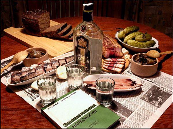водка и закуска фото -1-03
