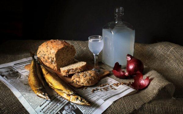 водка и закуска фото -1-11