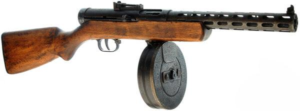 Пистолет-пулемет Дегтярева-34/38