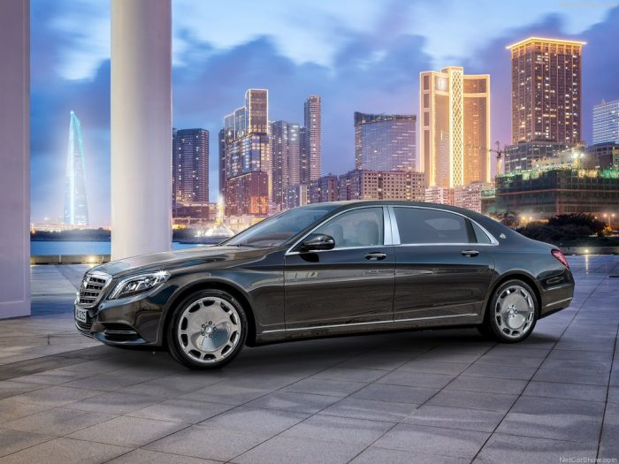 Mercedes-Benz S-Class Maybach - 01