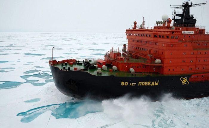 атомный ледокол 50 лет победы - 30