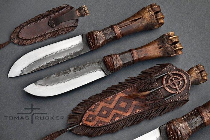 холодное оружие Tomas Rucker - 01