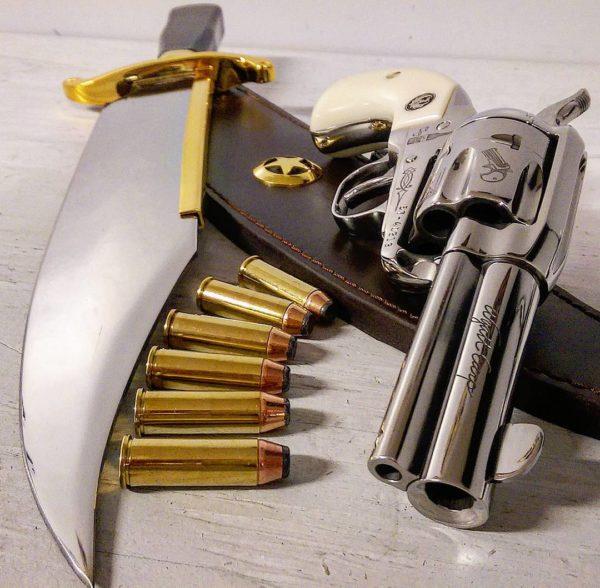оружие пистолеты и револьверы натюрморт - 06