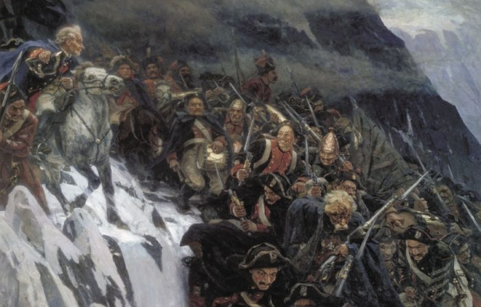 Александр Суворов в живописи - 06