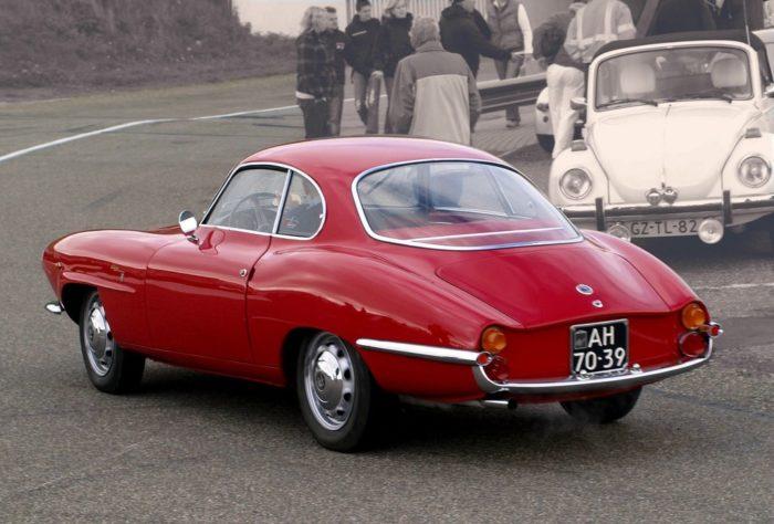 гоночный автомобиль Alfa Romeo Giulietta SS - 02