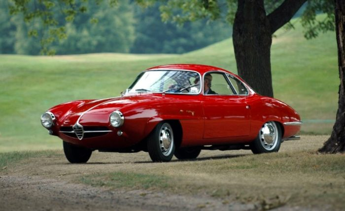 гоночный автомобиль Alfa Romeo Giulietta SS - 04