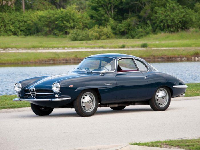 гоночный автомобиль Alfa Romeo Giulietta SS - 06