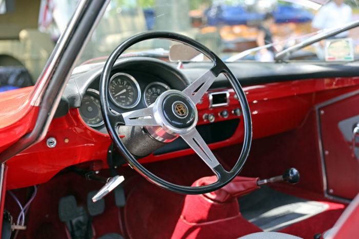 гоночный автомобиль Alfa Romeo Giulietta SS - 07