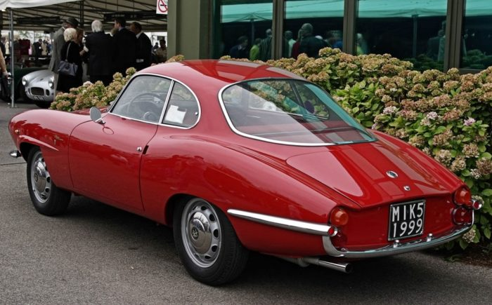 гоночный автомобиль Alfa Romeo Giulietta SS - 08