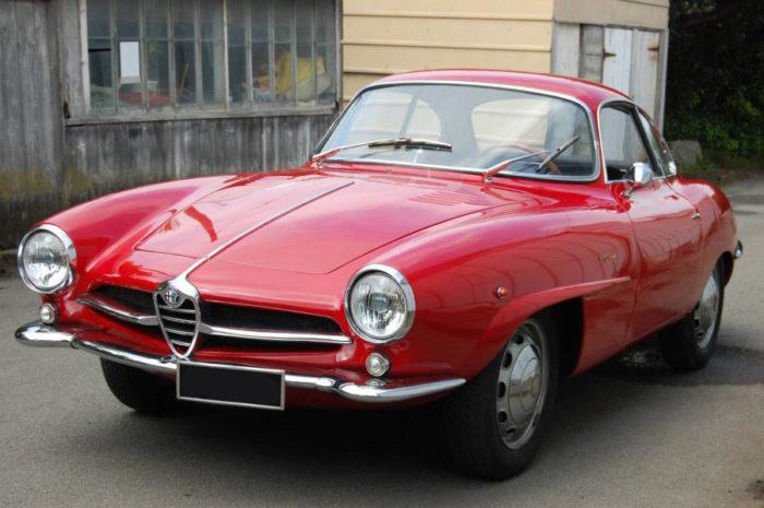 гоночный автомобиль Alfa Romeo Giulietta SS - 09