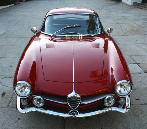 гоночный автомобиль Alfa Romeo Giulietta SS - 10