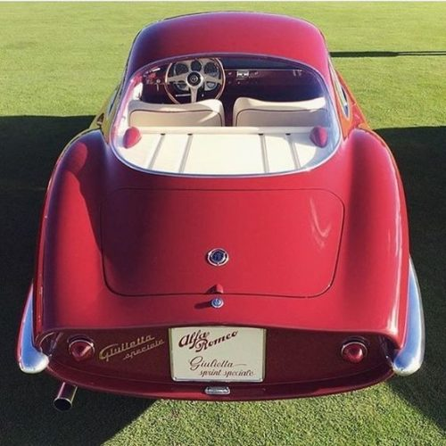 гоночный автомобиль Alfa Romeo Giulietta SS - 11