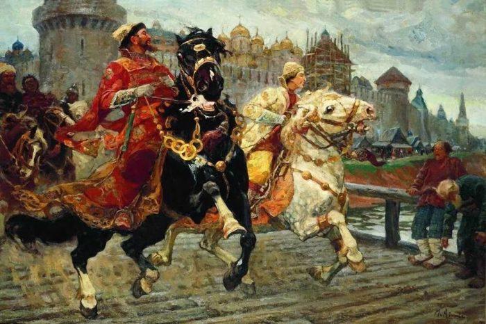 царь Иван IV Грозный картины - 02