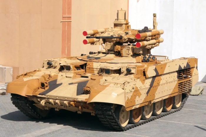 машина поддержки танков Терминатор - 01