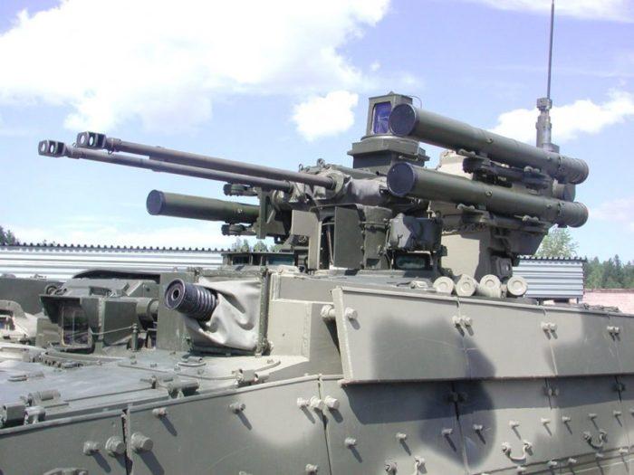 машина поддержки танков Терминатор - 02