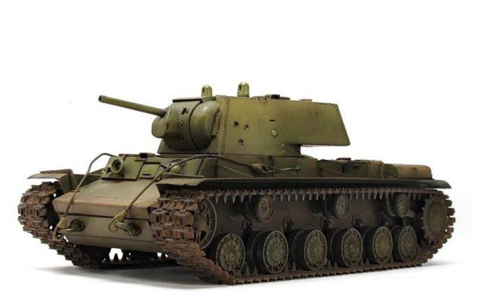 тяжелый танк КВ-1 - 07
