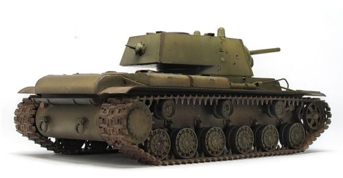 тяжелый танк КВ-1 - 08