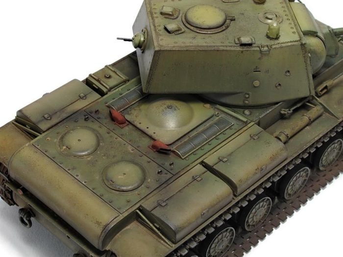 тяжелый танк КВ-1 - 09