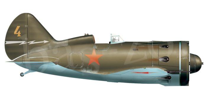 истребитель И-16 - 02