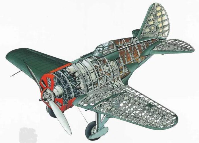 истребитель И-16 - 04