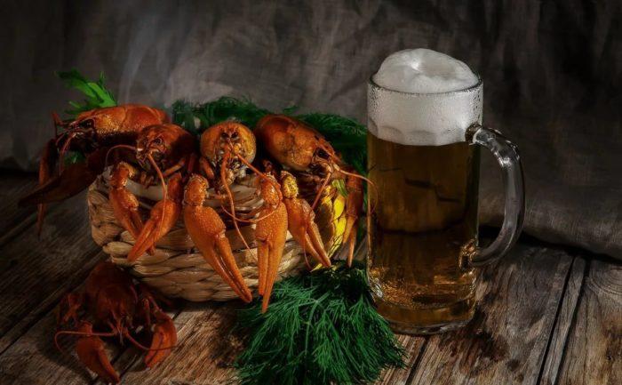пиво с раками и пиво с рыбой фото – 03
