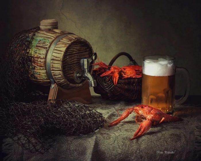пиво с раками и пиво с рыбой фото – 04