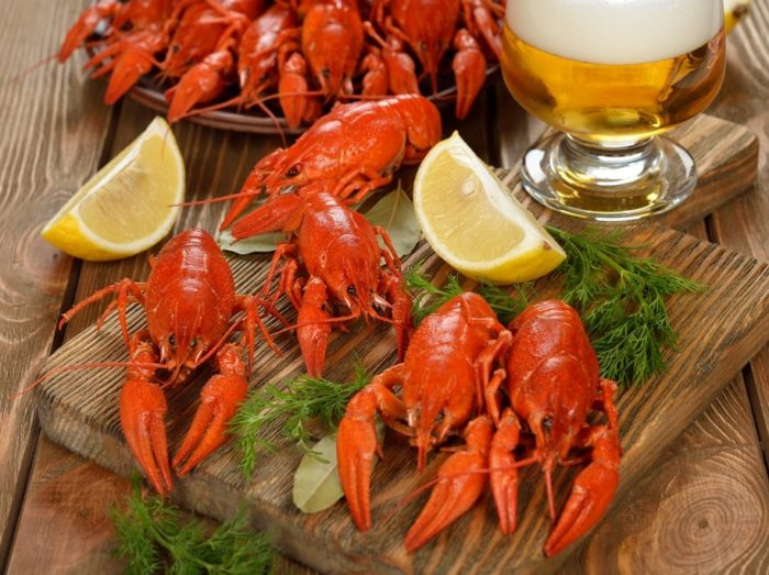 пиво с раками и пиво с рыбой фото – 05