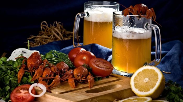 пиво с раками и пиво с рыбой фото – 07
