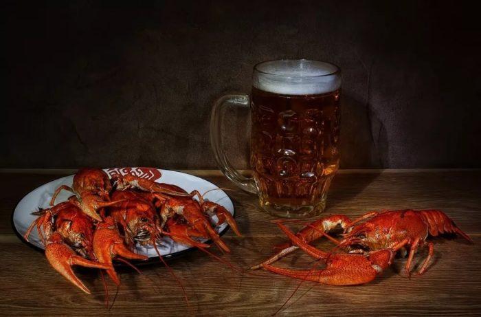 пиво с раками и пиво с рыбой фото – 08