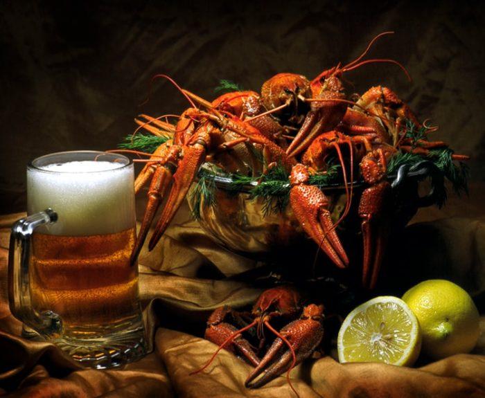 пиво с раками и пиво с рыбой фото – 09