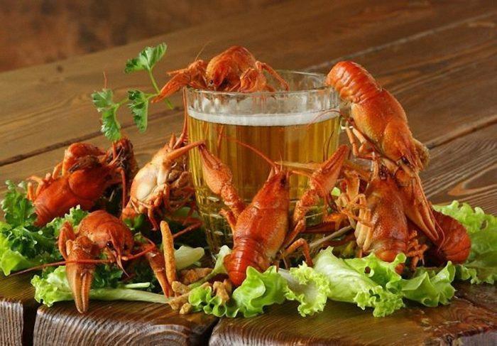 пиво с раками и пиво с рыбой фото – 10
