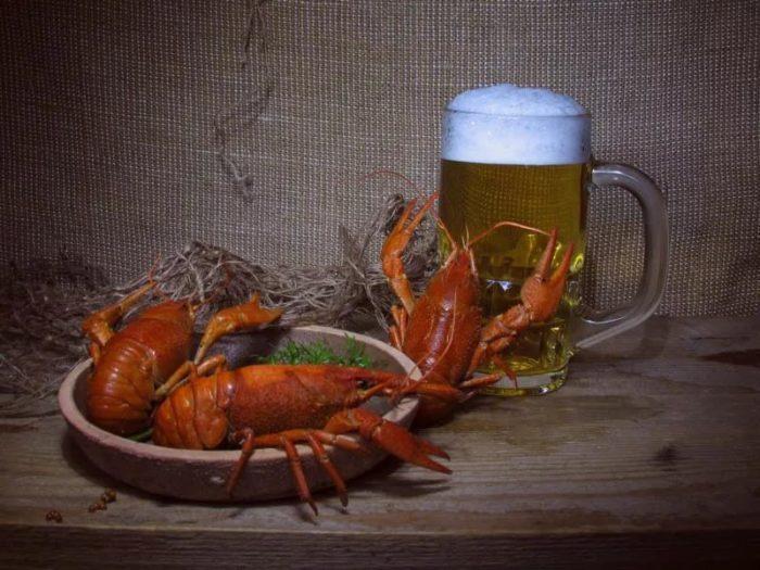 пиво с раками и пиво с рыбой фото – 12