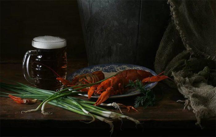 пиво с раками и пиво с рыбой фото – 13