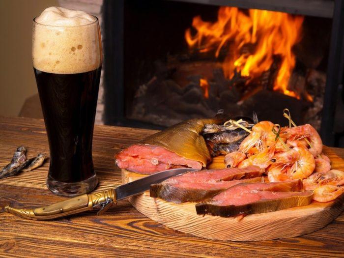пиво с раками и пиво с рыбой фото – 18