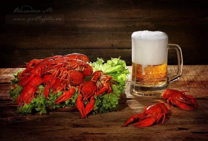 пиво с раками и пиво с рыбой фото – 19