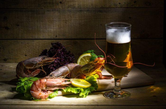 пиво с раками и пиво с рыбой фото – 20