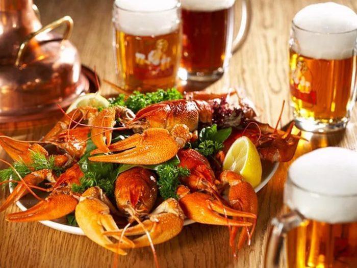 пиво с раками и пиво с рыбой фото – 23