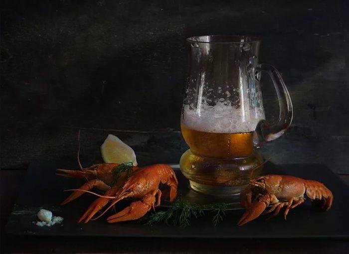 пиво с раками и пиво с рыбой фото – 26