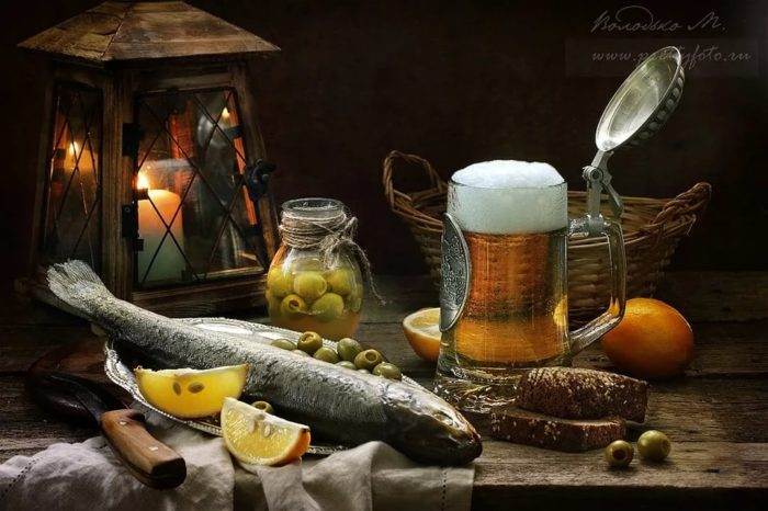 пиво с раками и пиво с рыбой фото – 27