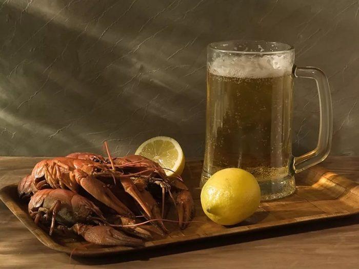 пиво с раками и пиво с рыбой фото – 28