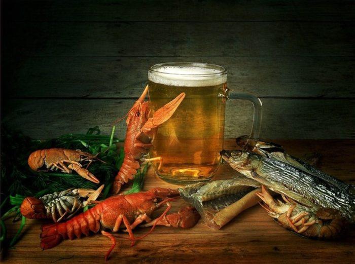 пиво с раками и пиво с рыбой фото – 30