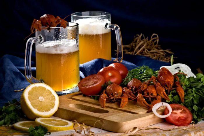 пиво с раками и пиво с рыбой фото – 32