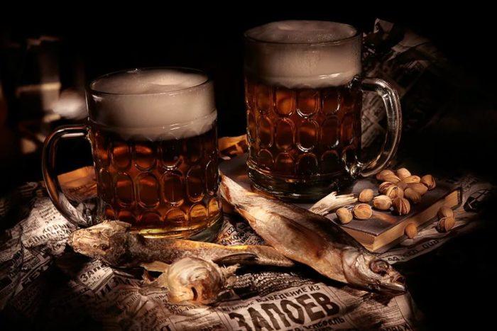 пиво с раками и пиво с рыбой фото – 33