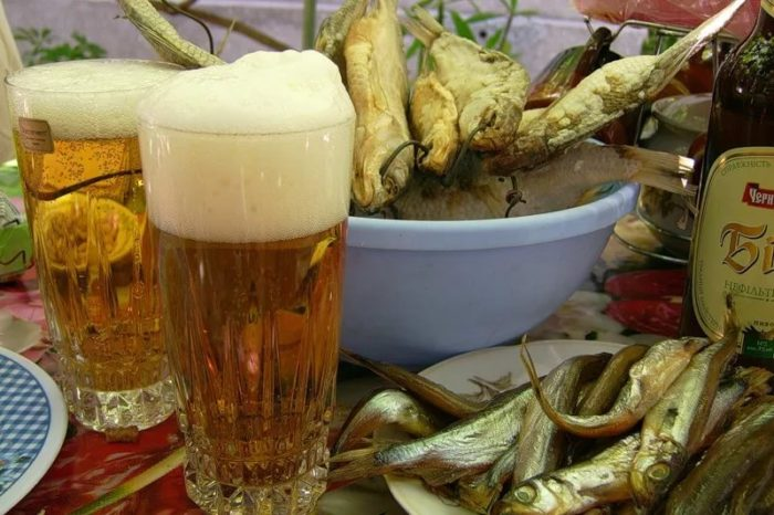 пиво с раками и пиво с рыбой фото – 36