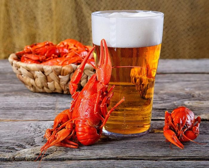 пиво с раками и пиво с рыбой фото – 37
