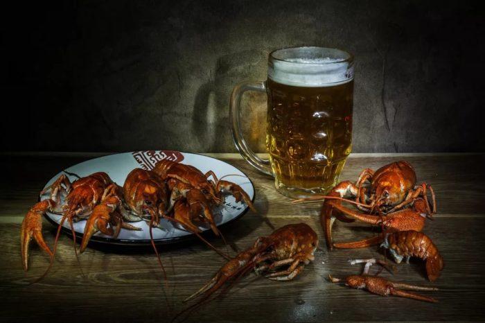 пиво с раками и пиво с рыбой фото – 39