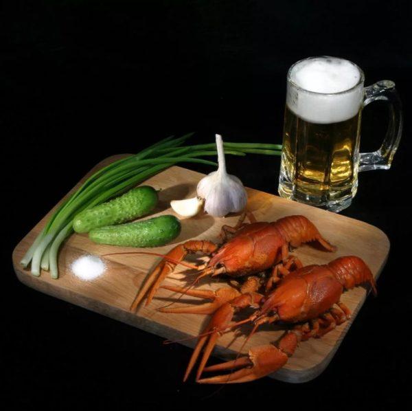пиво с раками и пиво с рыбой фото – 40